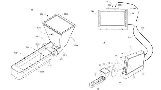 Acessório em patente da Nintendo transformaria Wii Remote em tela de toque (Foto: Divulgação)
