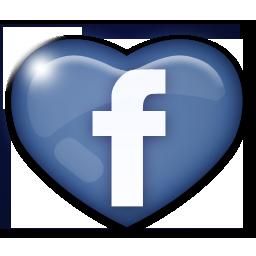 Coração Facebook (Foto: Reprodução)