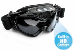 HD Video Camera Ski Goggles (Foto: Divulgação)