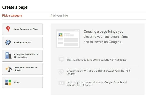 Create a page (Foto: Divulgação)