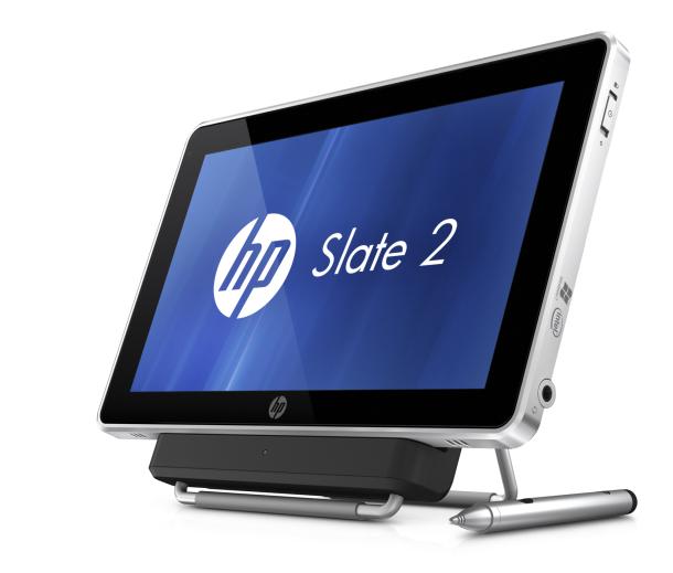 HP Slate 2 com dock (Foto: Reprodução)