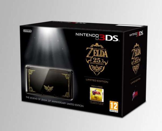 Nintendo 3DS Edição Limitada do 25º aniversário de Zelda (Foto: Divulgação)