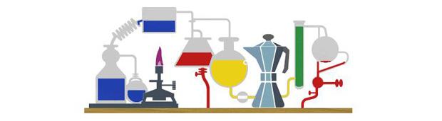 Homenagem do Google ao químico alemão Robert Bunsen (Foto: Reprodução)