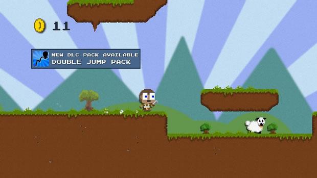 Jogo indie para XBox 360 brinca com a enxurrada de DLCs (Foto: Divulgação)