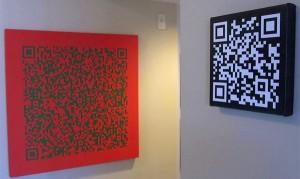 QR Code Wall Art (Foto: Divulgação)
