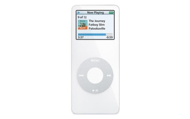 iPod Nano - 1ª geração (Foto: Divulgação)