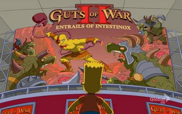 Paródia da E3 em Os Simpsons  (Foto: Divulgação)