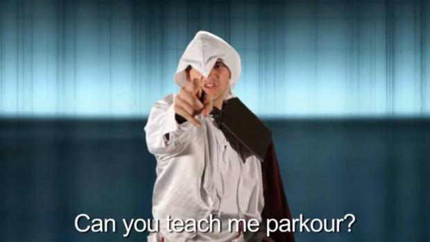 Fã faz paródia em homenagem à Assassin's Creed Revelations (Foto: Reprodução)