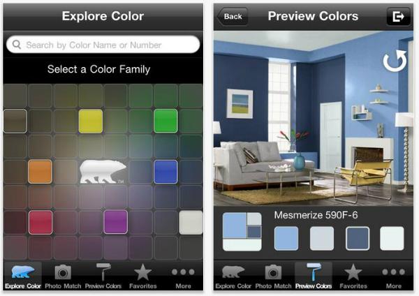 Conhe a 10 aplicativos para decorar sua casa artigos - Programa para pintar paredes ...