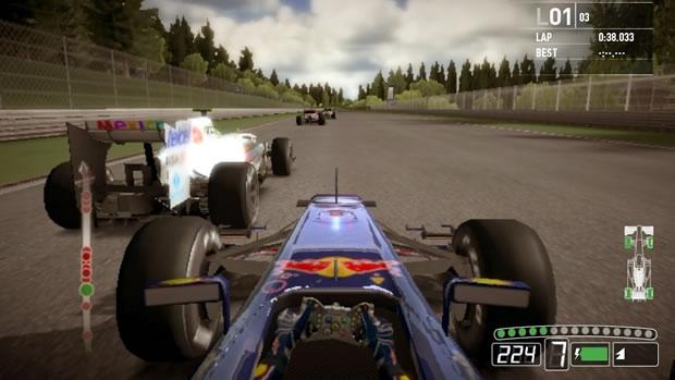F1 2011 está confirmado para lançamento do PS Vita (Foto: Divulgação)