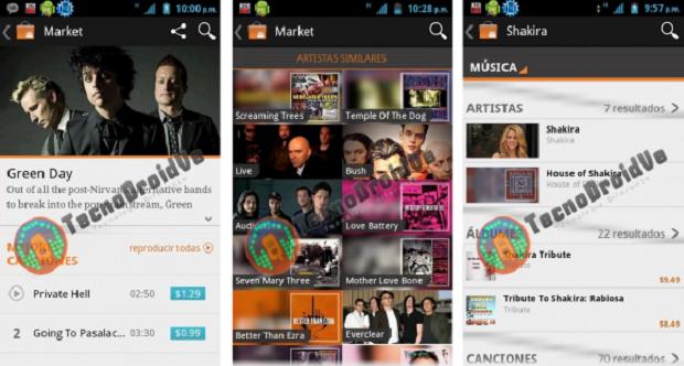 Google Music Store (Foto: TechnoDroidVe)