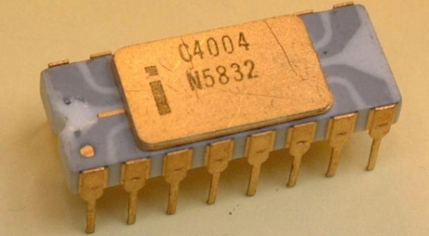 Intel 4004 (Foto: Reprodução)