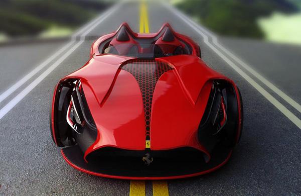 Ferrari Millennio Concept. (Foto: Divulgação)