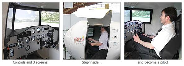 OVO-4 Home Flight Simulator (Foto: Reprodução)