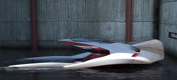 Renault Hidroplane (Foto: Divulgação)