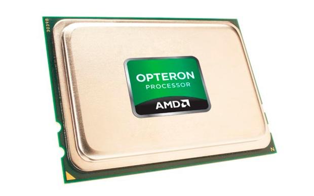 Os processadores da linha Opteron oferecem uma performance até 84% maior e uma largura de banda 73% melhor, se comparados com o processador Intel Xeon X5670, lançado em 2010. (Foto: Divulgação)