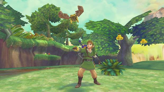 The Legend of Zelda: Skyward Sword, um dos caditados a Jogo do Ano (Foto: Divulgação)