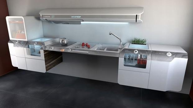 Projeto de design da brastemp mostra a cozinha do futuro not cias techtudo - Cucine per disabili ...