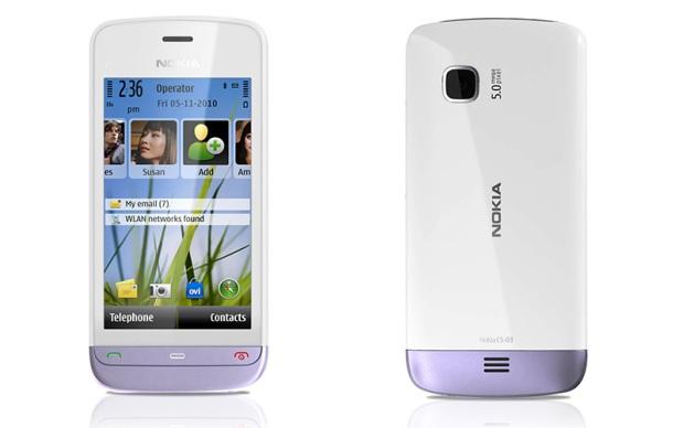 Nokia C5-03 (Foto: Divulgação)