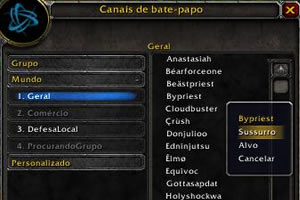 Primeiros Passos em World OF Warcraft Wow-chat1
