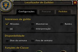 Interface das guildas (Foto: Reprodução)