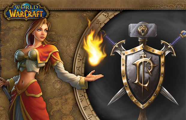 Humana em World of Warcraft (Foto: Reprodução)