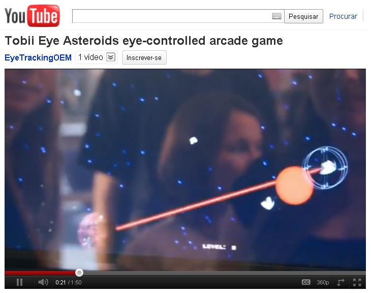 EyeAsteroids. (Foto: Reprodução)