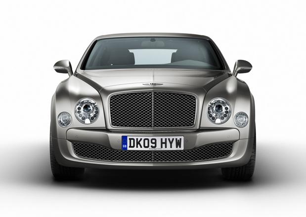 O conceito foi adaptado para o modelo Mulsanne da Bentley. (Foto: Divulgação)
