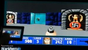 DOS rodando no Playbook (Foto: Reprodução)
