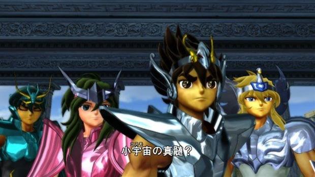 Namco Bandai detalha DLC pago no jogo dos Cavaleiros do Zodíaco