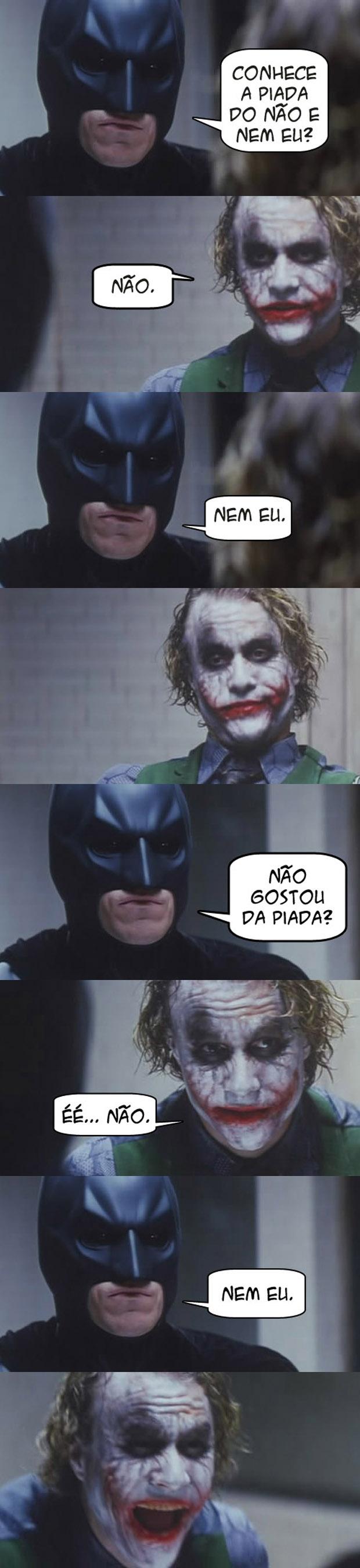 Coringa e Batman (Foto: Reprodução)