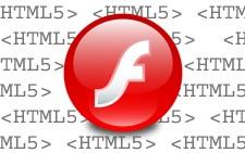 A própria Adobe está abandonando o Flash para adotar o HTML5 (Foto: Arte)