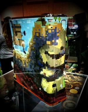 Xbox 360 personalizado de Minecraft (Foto: IGN)