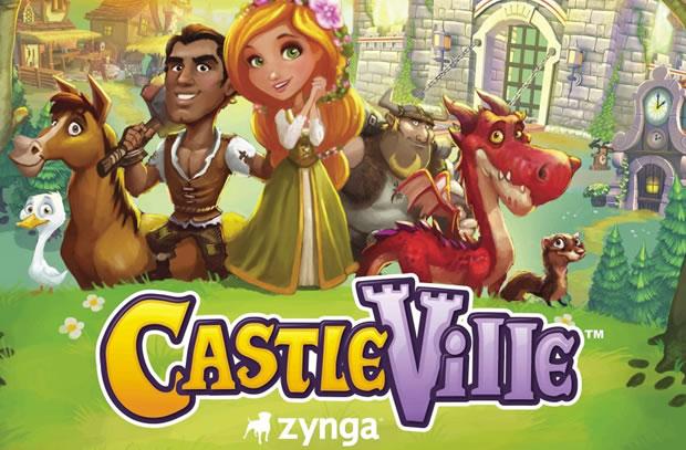 Zynga lança CastleVille para o Facebook (Foto: Divulgação)