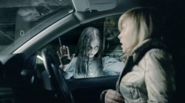 Cena de filme publicitário considerado assustador (Foto: Reprodução)