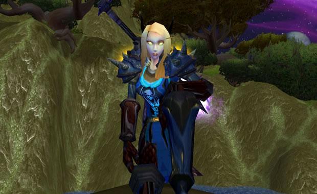 Elfa guerreira (Foto: Reprodução)
