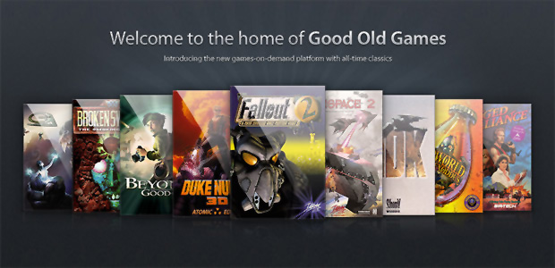 Good Old Games também venderá jogos novos (Foto: Divulgação)