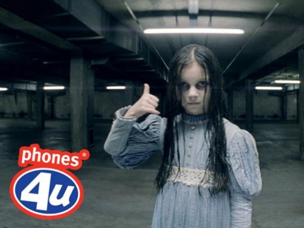 Phones4U é acusada de assustar consumidores com seu comercial (Foto: Reprodução)