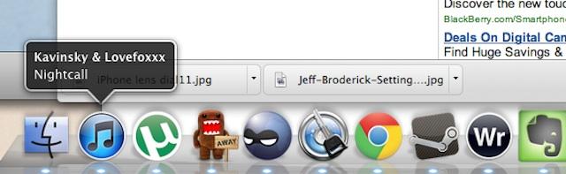 iTunes no dock do Mac Os (Foto: Reprodução/Cult of Mac)