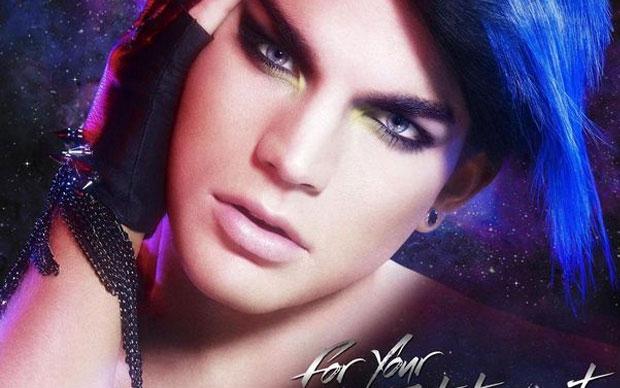 Photoshop fail de Adam Lambert (Foto: Reprodução)
