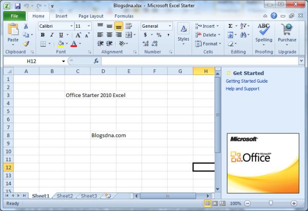 Só não adianta se animar em ter um Office gratuito, pois o Starter funciona de forma bastante limitada. (Foto: Reprodução)