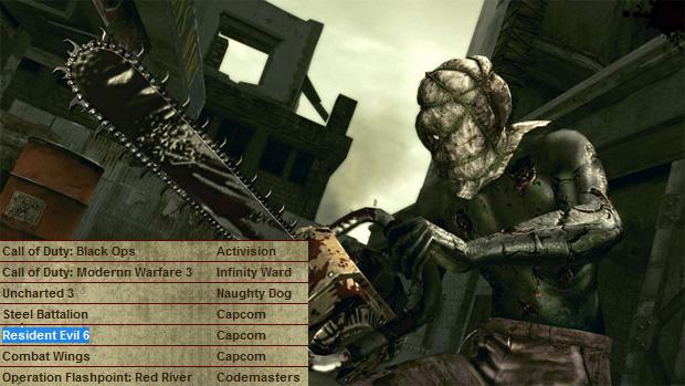 Referência a Resident Evil 6 aparece em página de dublador (Foto: Siliconera)
