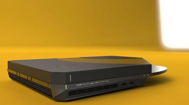 O Playstation 4 idealziado por Joseph Dumary (Foto: Divulgação)