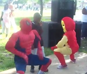 Super-heróis (Foto: Reprodução)