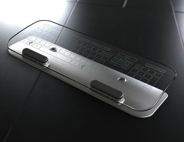 Teclado multi-touch (foto divulgação)