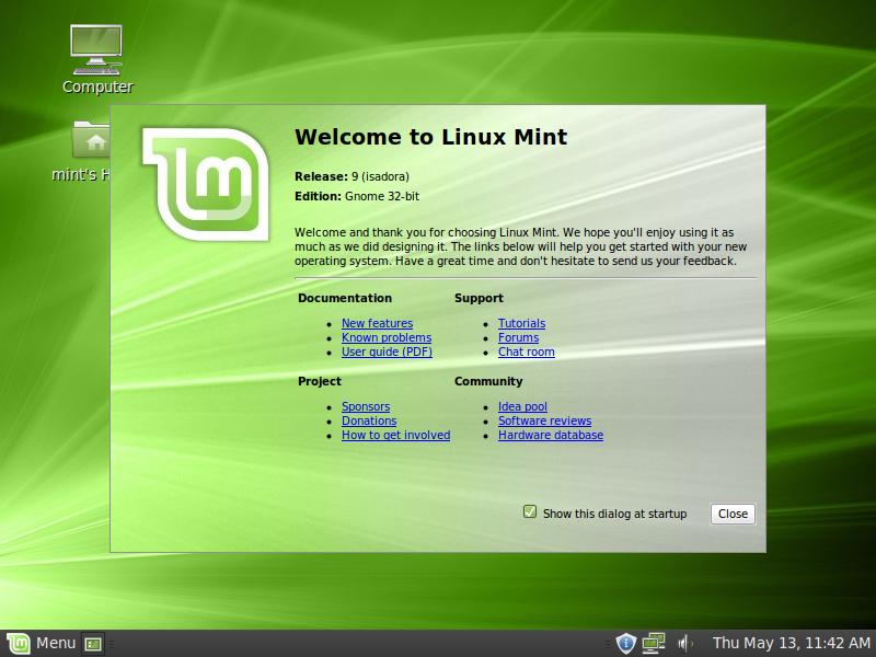 Linux Mint. (Foto: Reprodução)