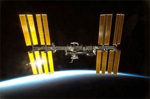 Estação Espacial Internacional (Foto: Reprodução)