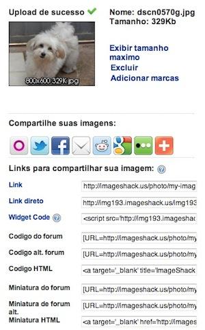 ImageShak (Foto: Reprodução)