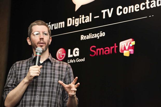 Michel Lent (VP de Estratégia do Grupo Pontomobi) no II Fórum Digital (Foto: Divulgação)