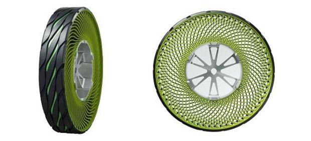 Conceito de pneu da Bridgestone (Foto: Divulgação)